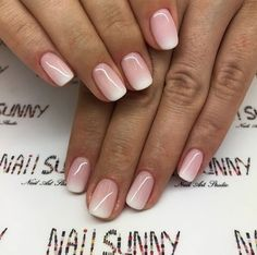 natural summer nail designs you must see and try 8 ~ com is part of Dark Christmas nails Manicures - Dark Christmas nails Manicures Cute Nails, Pretty Nails, Hair And Nails, My Nails, Pink Nails, Nagel Blog, Dipped Nails, Square Nails, Nagel Gel