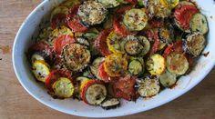 Zucchini and eggplant casserole-00