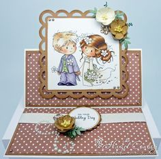 Hobby House Wee Stamps Love Me Do Card Making Kit Inspiration - by Hazel