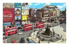 Picadilly Circus, London, England