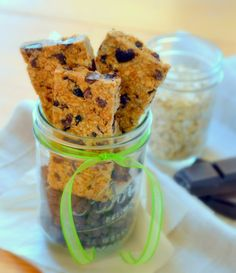 Nut free granola bars - uses honey and coconut oil. GF if you use GF oats! Lots of options for add-ins, seeds, rice puffs, etc.