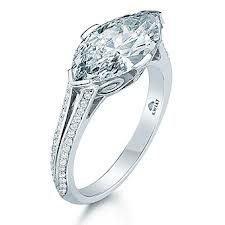 This is all I want marquise east/west engagement ring Marquise Diamond Ring in Platinum in a Vintage Style with a Pave Diamond Split Band Diamond Wedding Bands, Diamond Rings, Diamond Jewelry, Wedding Rings, Lotus Jewelry, Emerald Rings, Ruby Rings, Diamond Pendant, Marquise Ring