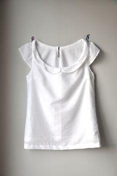 Une blouse à joli col par Zazz - thread