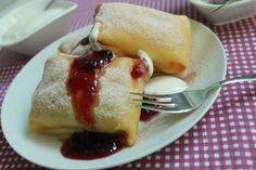 Nigella isteni túrós palacsintája Eggs, Pudding, Breakfast, Mille Crepe, Recipes, Dutch, Pancakes, Food, Baby