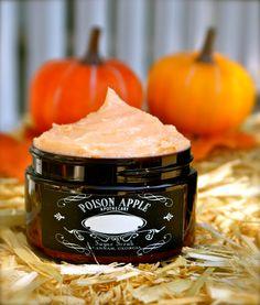 Pumpkin Marshmallow whipped sugar scrub.