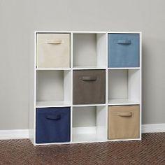 ClosetMaid 9 Cube Organizer White
