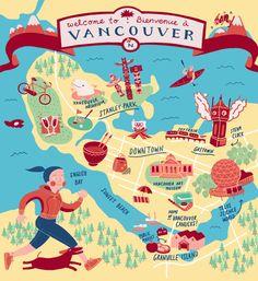 Adela Kang - Map of Vancouver