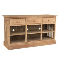 Driftwood Media Console   KirklandsFor across from couch