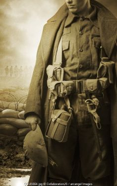 WW1 soldier © CollaborationJS / Arcangel Images