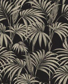 Honolulu Black and Gold Wallpaper | Graham & Brown UK