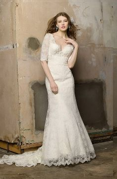 A-line Sweetheart Chapel Train Taffeta Floor-length Wedding Dresses