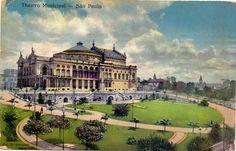 Teatro Municipal de São Paulo, 1915.