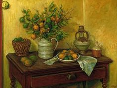 Paintings - Margaret Hannah Olley - Page 3 - Australian Art Auction Records Australian Painting, Australian Artists, Visual And Performing Arts, Art Auction, Bold Colors, Still Life, Objects, Wall Art, Paintings