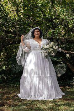 Pó de Arroz lança coleção de vestido de noiva plus size
