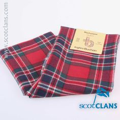 MacFarlane Modern Tartan Scarf. Free Worldwide Shipping Available