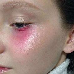 Pink geisha makeup look #editorial