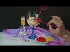 Pintura al óleo por contraste máximo. - YouTube