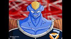 Dremico's Art Channel: Dragon Ball Z Burter Remastered (how to draw Burter)