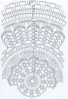Terrific Screen Crochet Doilies circle Suggestions Although many of the doilies that you see in stores today are made from paper or machine lace, you w Motif Mandala Crochet, Crochet Circles, Crochet Stitches Patterns, Crochet Round, Crochet Chart, Crochet Squares, Crochet Home, Thread Crochet, Knitting Patterns