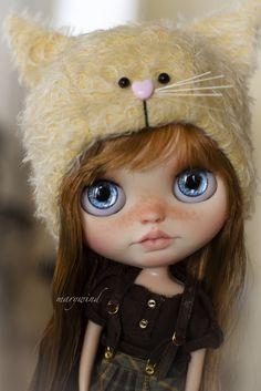 Flickr Pretty Dolls, Beautiful Dolls, Blythe Dolls, Girl Dolls, Kawaii Doll, Little Doll, Custom Dolls, Doll Face, Big Eyes