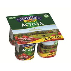 Stonyfield organic activia yogurt - Probiotic Food and Supplements That Really Work - Health Mobile