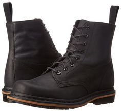 New Mens Dr. Martens Tristian Black Leather Comfort Lace Up Ankle Boots Size 10 #DrMartens #AnkleBoots