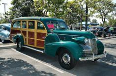 1939 Cadillac Model 75 five door woody - Luzon green