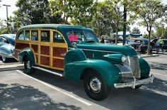 1939 Cadillac Model 75 five door woody - Luzon green