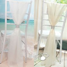 Aliexpress.com : Buy 2016 Fancy Wedding Accessories Chair Sashes with Shining Bow Real Picture White/Beige Chair Sashes 54*180cm Chair Sashes from Reliable accessories amplifier suppliers on Life&Peace Dress Store
