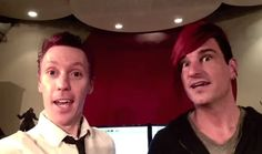 Two of my favorite guys--Blue Stahli and Celldweller ( but I didn't know were to put the awesomeness!!)