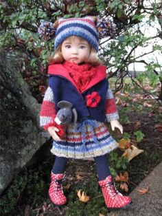MOUSE-AND-ME-by-Tuula-fits-13-Effner-Little-Darling-to-a-t