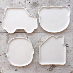 platos de ceramica para niños para hacer de la comida un momento más divertido, vajilla infantil, platos divertidos - ceramic plate for kids, fun at table, fun meal