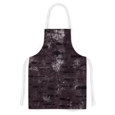 Kess InHouse Iris Lehnhardt 'Tex Mix Lounge' Abstract Purple Artistic Apron