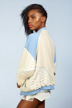 Dame d'Olive (fashizblackdiary: Jasmine Tookes for NASTY GAL,...)