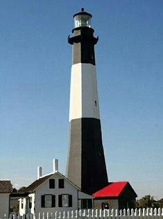 In honor of National Lighthouse Day yesterday (August 7th) ... Tybee Island's Lighthouse