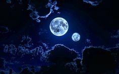 two moons - Moons Wallpaper ID 1204996 - Desktop Nexus Space