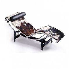 Chaise longue de Le Corbusier pour Cassina - Marie Claire Maison