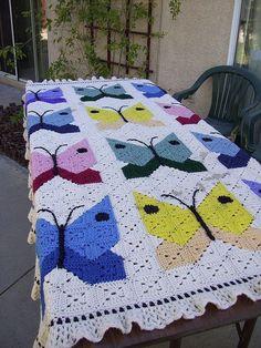 Transcendent Crochet a Solid Granny Square Ideas. Inconceivable Crochet a Solid Granny Square Ideas. Granny Square Crochet Pattern, Afghan Crochet Patterns, Crochet Squares, Crochet Granny, Granny Squares, Crochet Bedspread, Crochet Quilt, Crochet Home, Filet Crochet