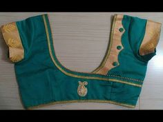 60 Easy and Simple Blouse Design to try - Wedandbeyond Blouse Neck Patterns, Saree Blouse Neck Designs, Designer Blouse Patterns, Kurti Neck Designs, Sleeve Designs, Patch Work Blouse Designs, Simple Blouse Designs, Stylish Blouse Design, Youtube