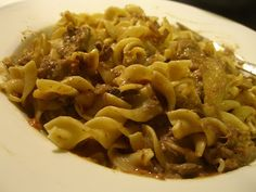 Easy Beef Stroganoff Crockpot Recipe