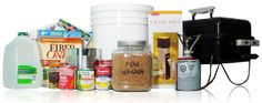 Emergency Preparedness: What to Buy, and When, Food Storage