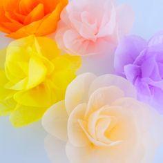 Цветы тишью «Фантазия»