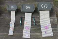 50% Off Complete Custom Geocaching Set With Swag Items! - $9.95, via Etsy.