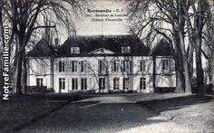 """Château d'Incarville. How do places get their names?  (Google: tourville ÉgliseTourville proust)  Find: noms de villes noramndes en -""""ville""""  https://www.google.com"""