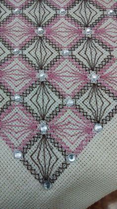Monks Cloth, Blackwork, Embroidery Patterns, Alphabet, Cross Stitch, Blanket, Crochet, Creative, Needlepoint