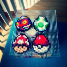 Video game Easter eggs hama beads by mattyperler