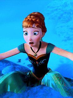 Frozen~that face Anna