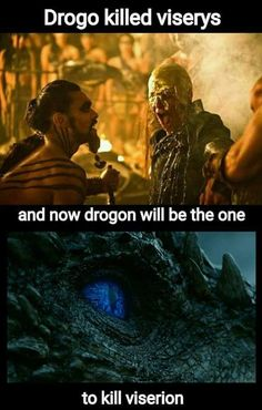 Game of thrones season 7 parallels, Khal Drogo, Viserys Targaryen, Drogon, Viserion
