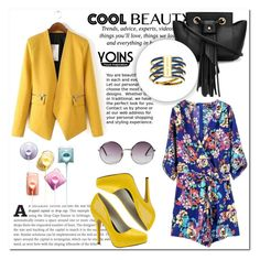 """Yoins 27"" by mini-kitty ❤ liked on Polyvore featuring Pussycat, Michael Antonio, Michael Kors, Monki and yoins"