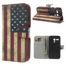 Buchdesign Tasche Motorola Moto G Flagge USA 9,99 €